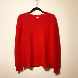 J.Crew red sweater
